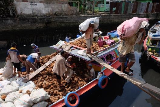 Pasar Sekanak Palembang