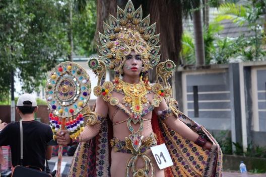 Pawai Festival Sriwijaya