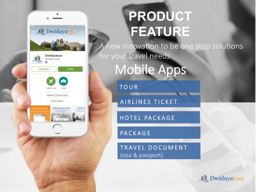 Dwidayatour Mobile Application
