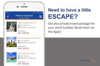 Dwidayatour Mobile Application