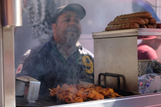 Halal Kebab Seller in New York
