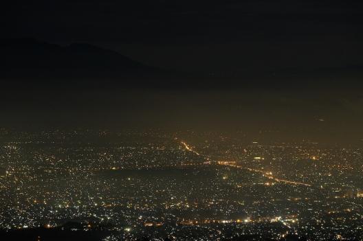 Bandung from Bukit Moko