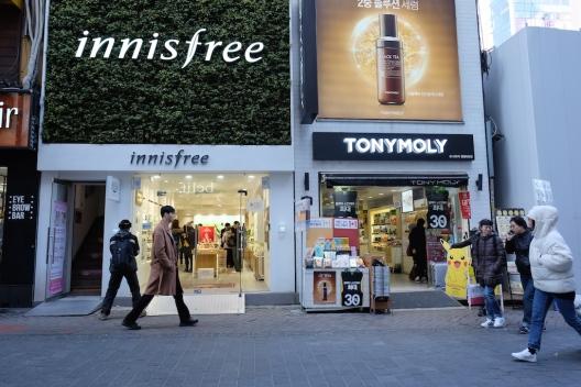 Shopping in Myeongdong