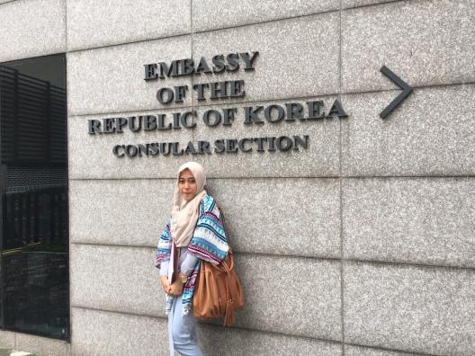 Pendaftaran Visa Korea