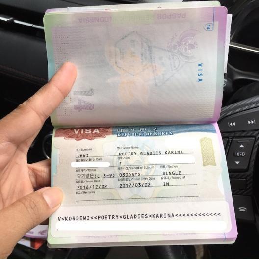 Visa Korea Selatan