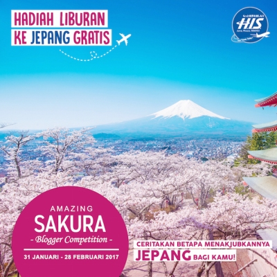HIS Travel Amazing Sakura Blogger Competition