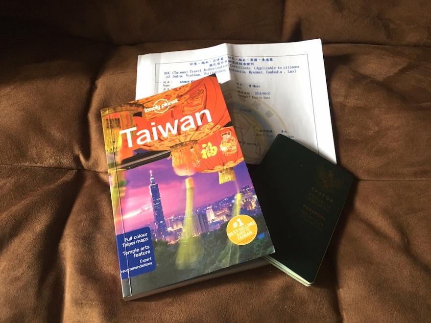 Bebas Visa Taiwan
