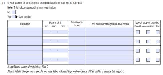 Aplikasi 1419 Visa Australia