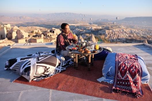 Breakfast at Cappadocia