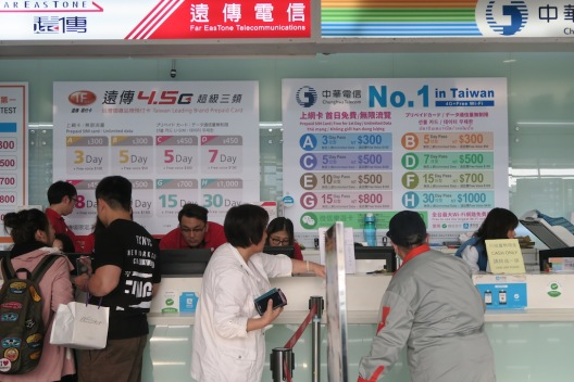 Taiwanese SIM Card