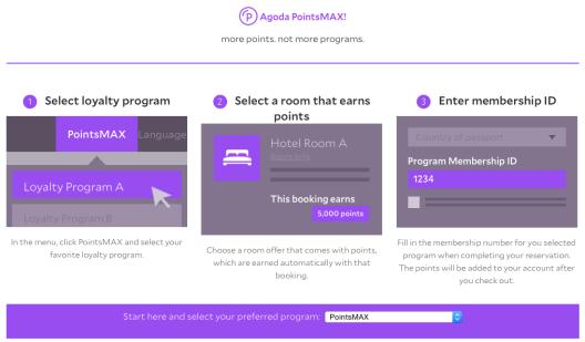 Agoda PointsMAX