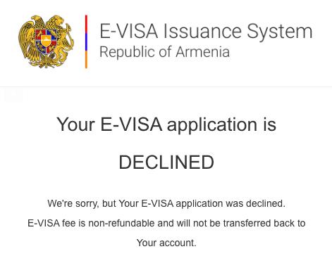 e-visa Armenia