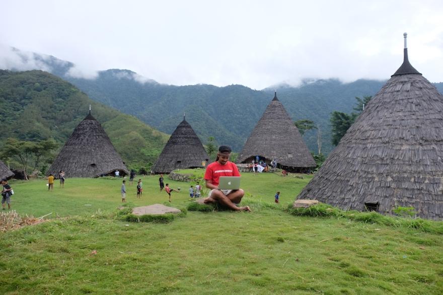 Travel Blogging at Wae Rebo
