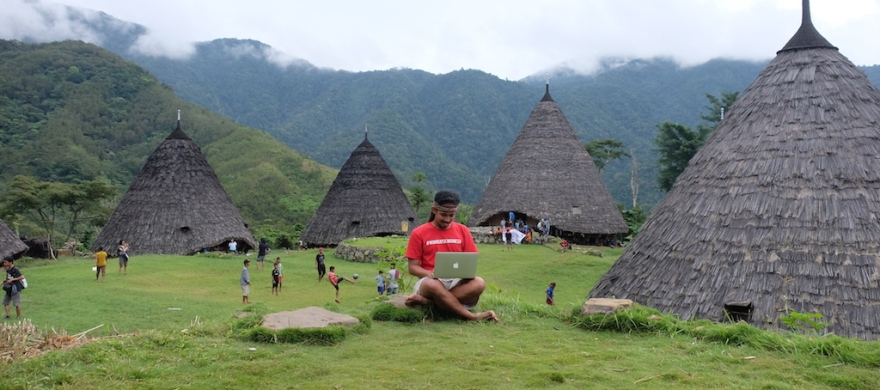 Travel Blogging at Wae Rebo