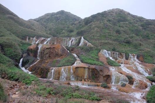 Golden Waterfall Taiwan