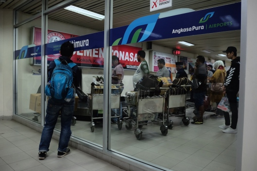 Bagasi di Bandara Pattimura Ambon