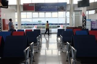 Ruang Tunggu Bandara Pattimura Ambon