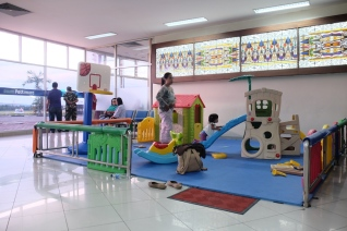 Kids Playground Bandara Pattimura Ambon