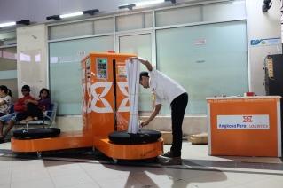 Wrapping Baggage Bandara Pattimura Ambon
