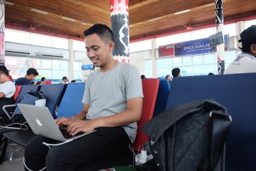 Free Wi-Fi Bandara Pattimura Ambon