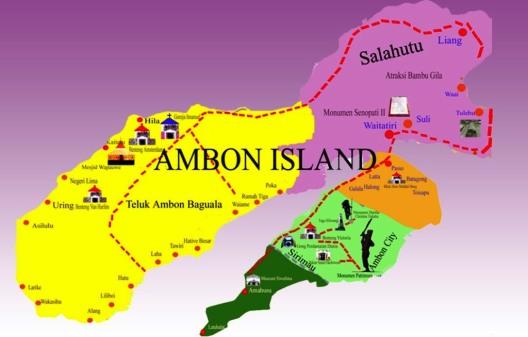 Peta Wisata Ambon