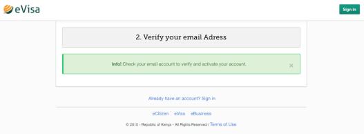 e-Visa Kenya