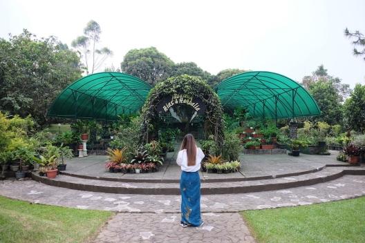 Kebun Herbal Istana Cipanas