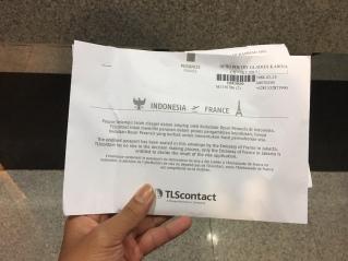 TLS Visa Perancis