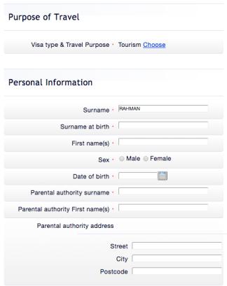 Visa Perancis TLS