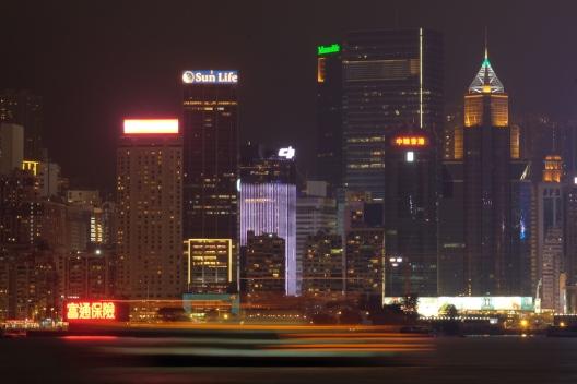 Night at Hong Kong
