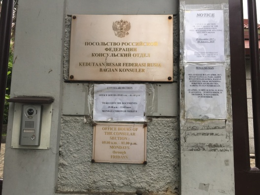 Kedubes Rusia
