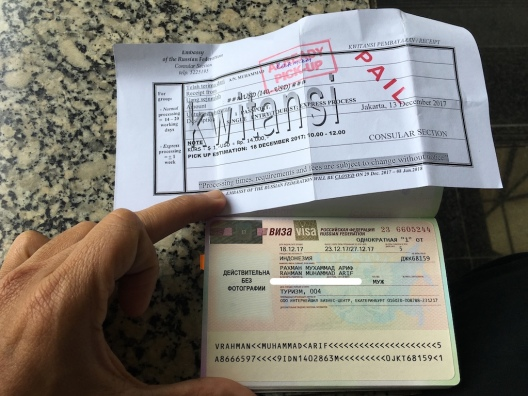 Visa Rusia