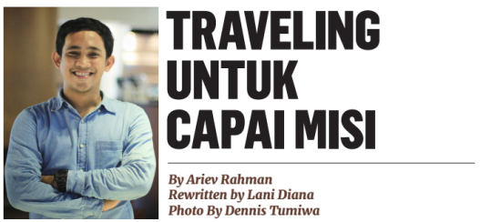 Ariev Rahman Backpackstory