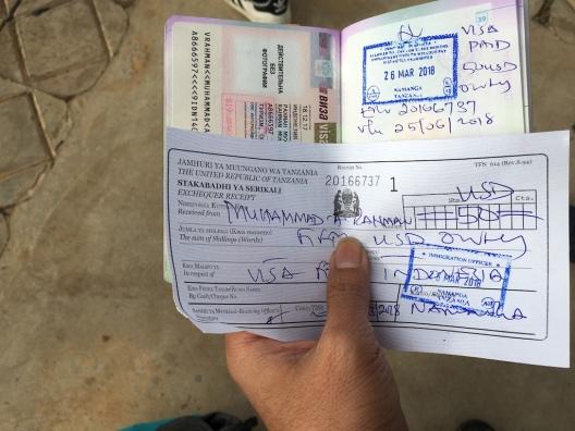 Visa on Arrival Tanzania