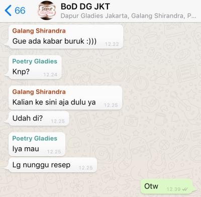 BOD DG Jakarta