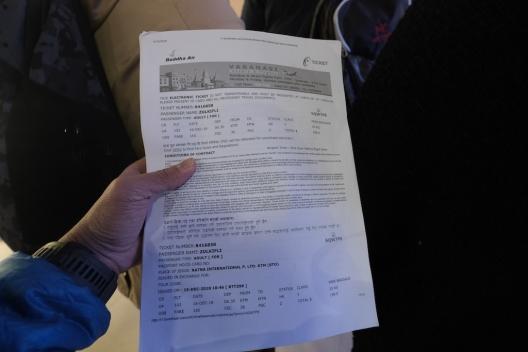 e ticket Buddha Air