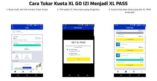 XL GO IZI - XL Pass