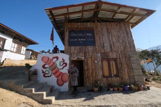 Phallus Village Bhutan