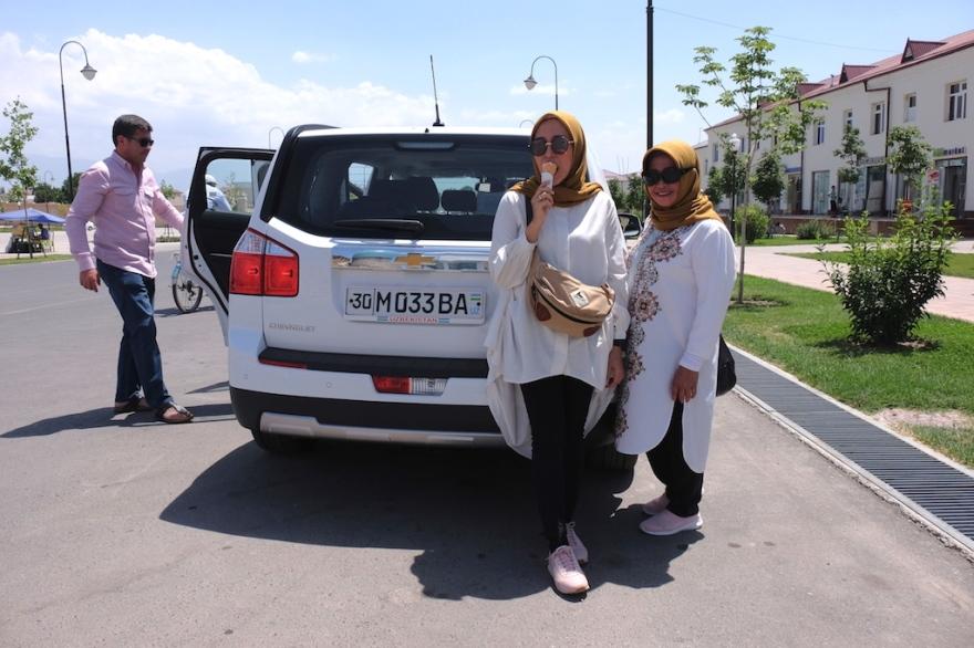 Car in Uzbekistan