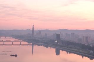 Pyongyang in The Morning