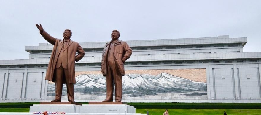 Mansudae Hill Pyongyang