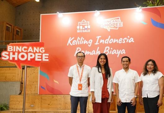 Bincang Shopee Keliling Indonesia Ramah Biaya
