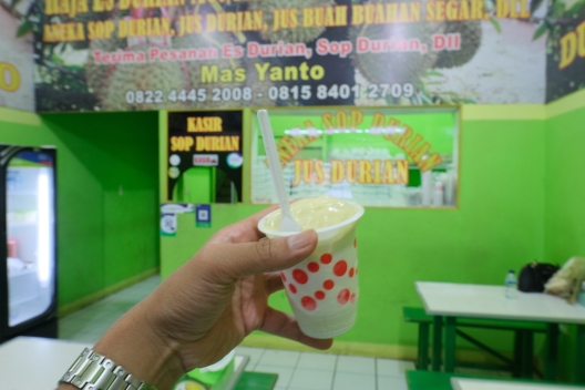 Raja Es Durian Monthong Mas Yanto