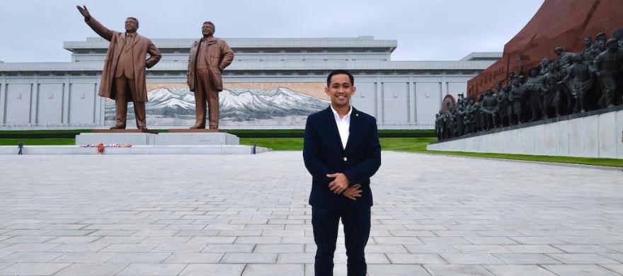 Ariev in Pyongyang