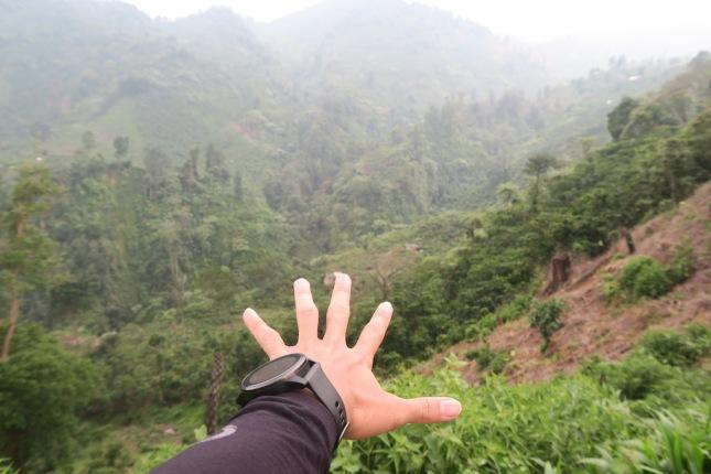 Road to Desa Cisadon