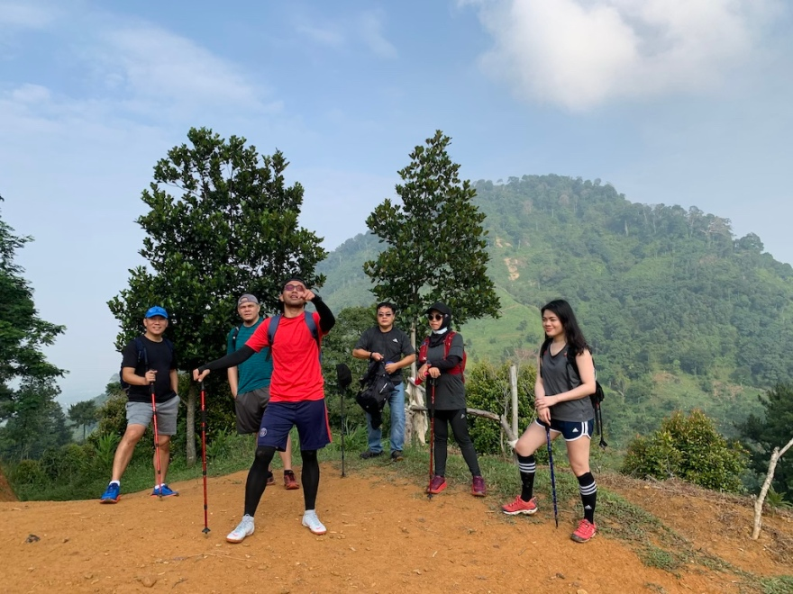 Trekking Sentul Gunung Pancar
