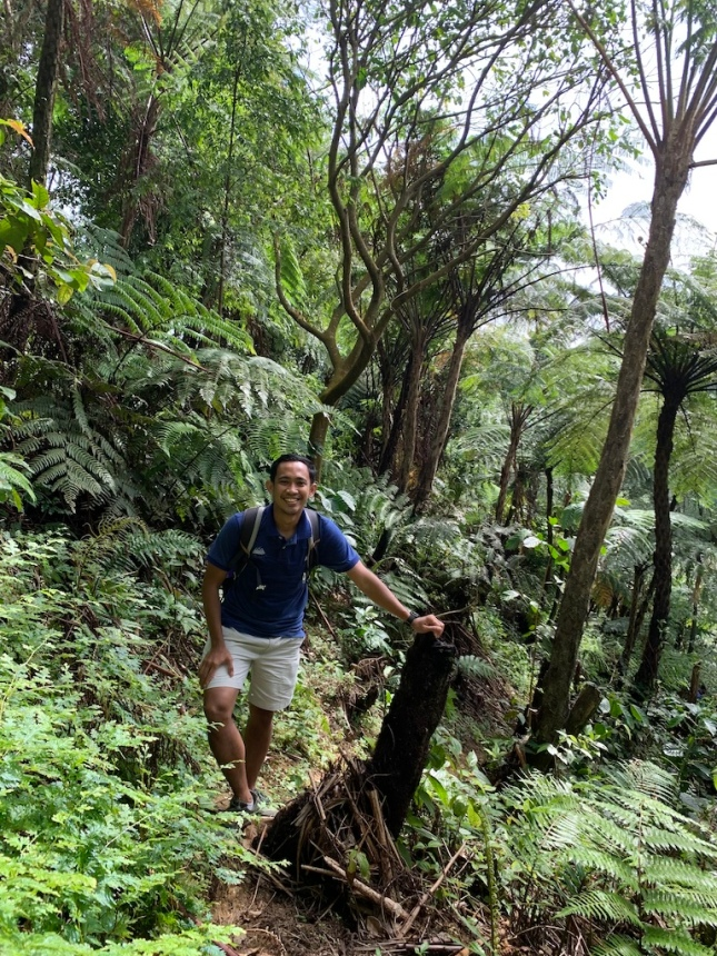 Road to Curug Kalimata
