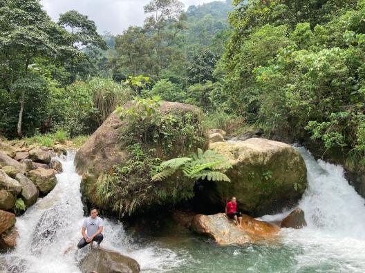 Sungai Cibatok Leuwi Hejo
